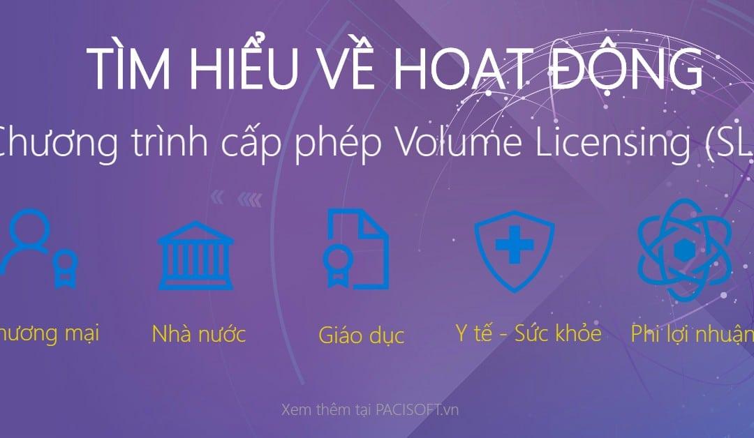 Chương trình cấp phép Volume Licensing