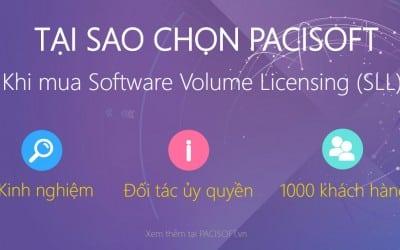 TOP lý do chọn mua phần mềm bản quyền tại PACISOFT
