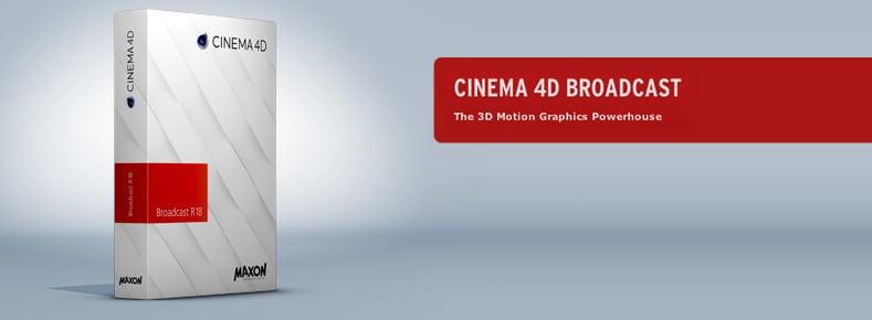 Bộ công cụ Cinema 4D Broadcast R18 gồm những gì?