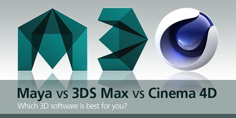 Ba phần mềm 3D phổ biến cho các nhà thiết kế chuyên nghiệp
