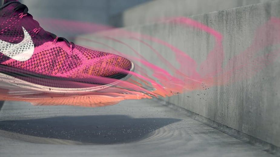 Tính năng của Cinema 4D thiết kế điểm nổi bật cho Nike