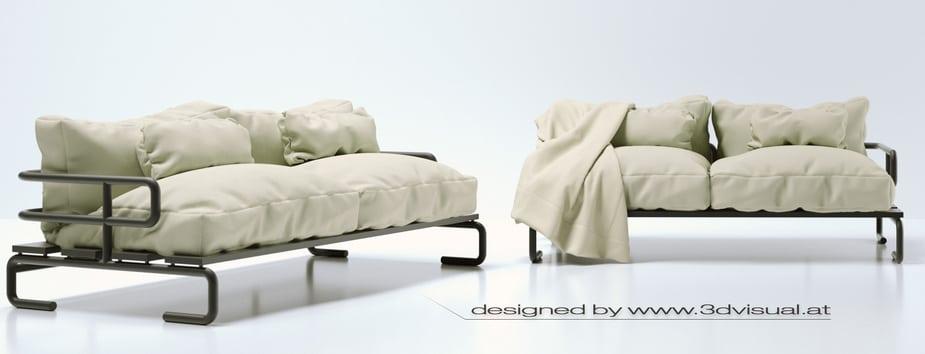 Mô phỏng thiết kế đồ nội thất với Cinema 4D