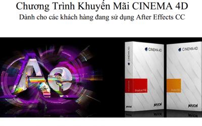 Khuyến Mãi Cinema 4D bản quyền