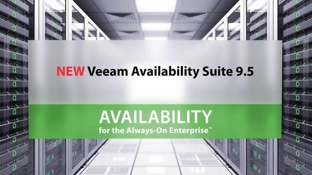 NEW Veeam Availability Suite 9.5