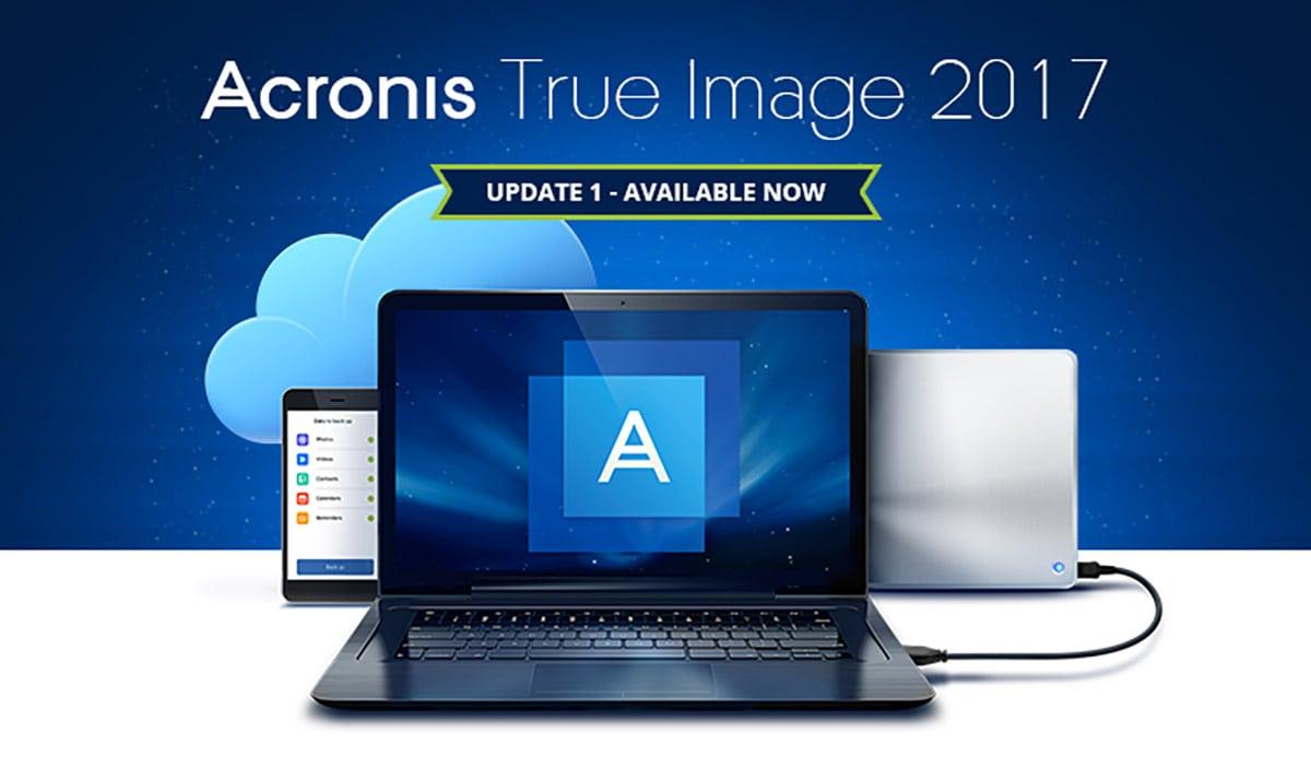 Acronis True Image 2017 Giải pháp sao lưu cá nhân thế hệ mới
