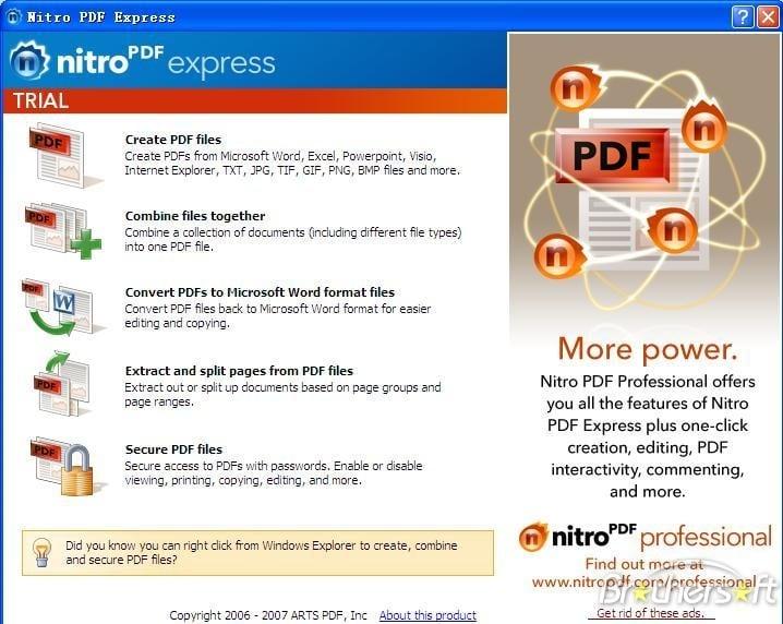 Nitro và tính năng của PDF 2.0