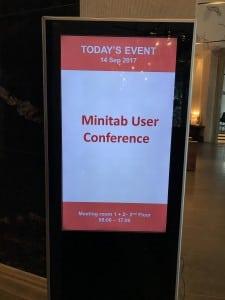 Sự kiện Minitab User Conference tại Tp Hồ Chí Minh tháng 9/2017
