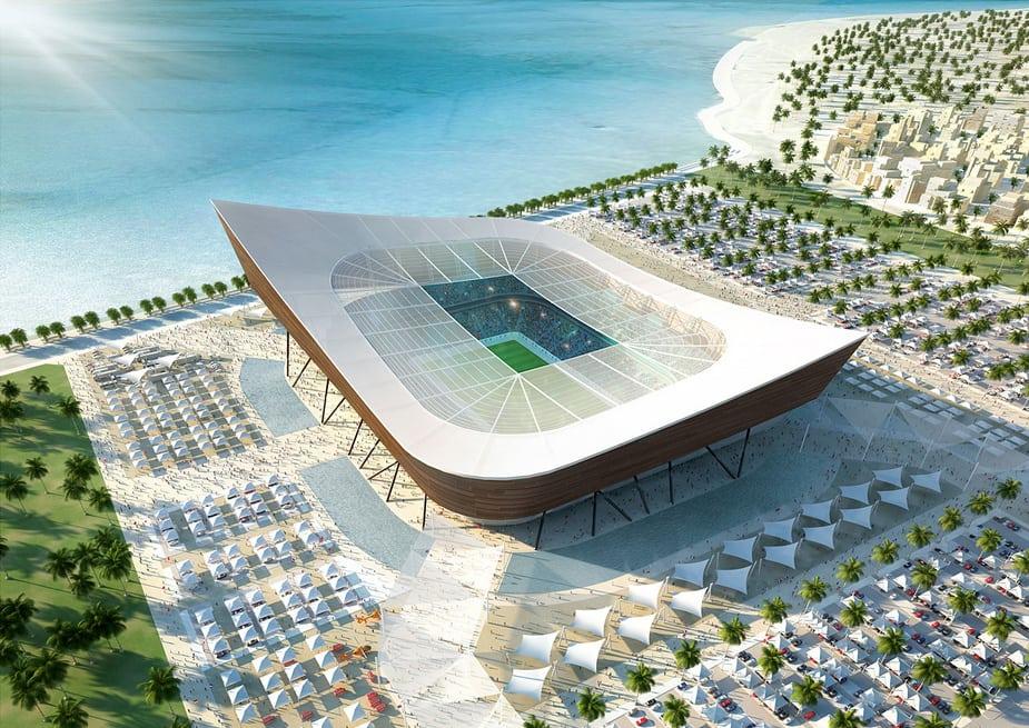 Cinema 4D thiết kế các sân vận động cho Thế vận hội FIFA 2022