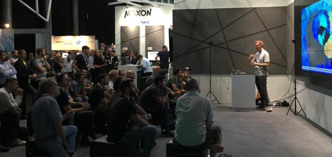 MAXON giới thiệu công cụ sáng tạo của Cinema 4D R19 tại RAI Convention Center