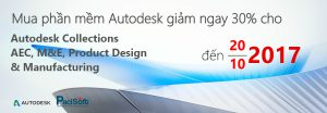 Khuyến mãi Autodesk Collections