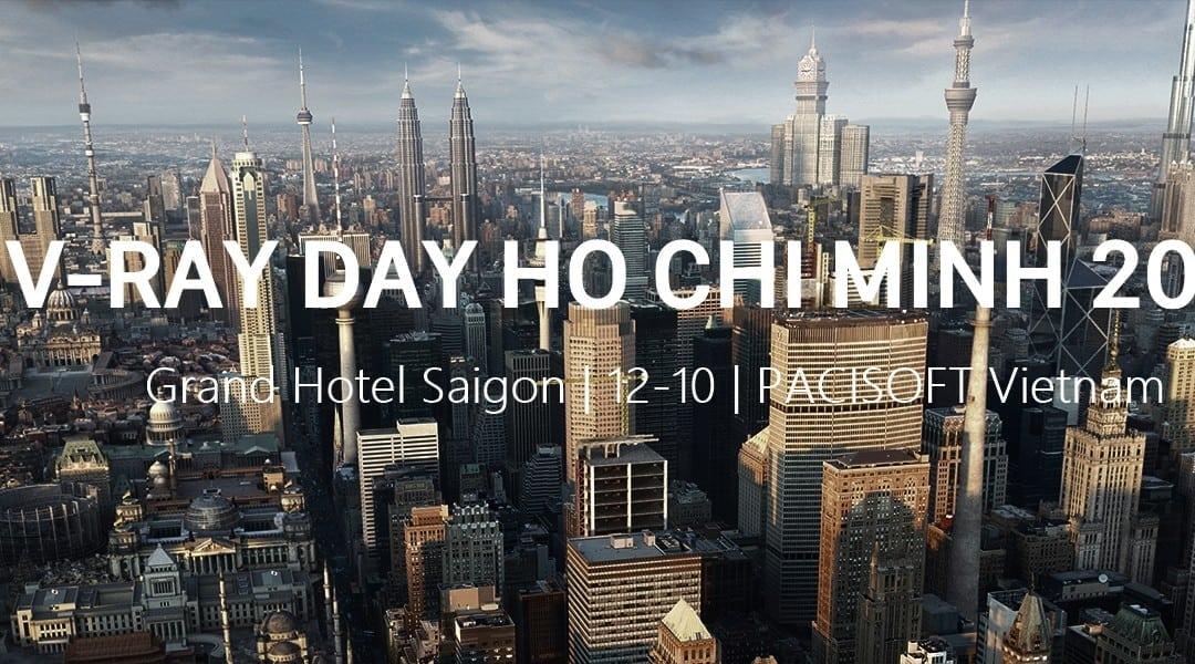 Thư mời Sự kiện & Hội thảo V-Ray Day Ho Chi Minh 2017