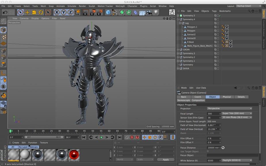 Cinema 4D kết hợp ZBrush mô phỏng ảnh