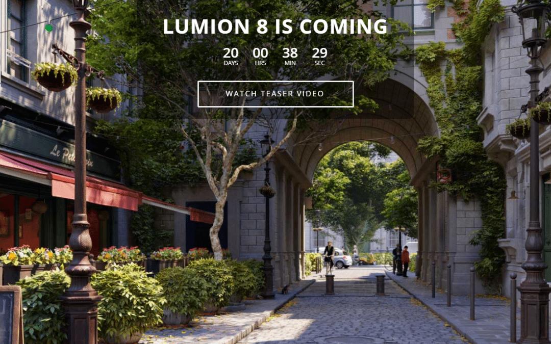 Bạn đã sẵn sàng chào đón Lumion 8?