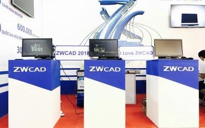 Gian hàng ZWCAD 2018 All New ấn tượng tại VIETBUILD Hồ Chí Minh