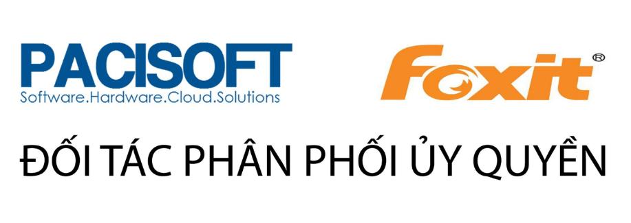 Đối tác phân phối Foxit PDF bản quyền tại Việt Nam