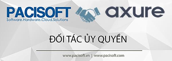PACISOFT là đối tác ủy quyền chính thức của Axure tại Việt Nam