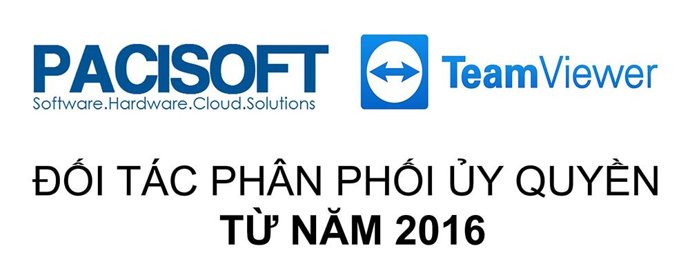 Pacisoft trở thành đối tác ủy quyền phần mềm TeamViewer tại Việt Nam