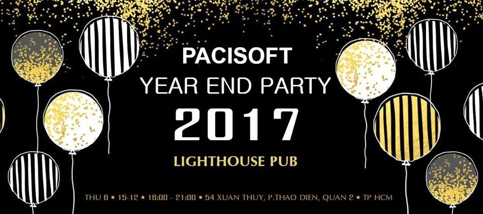 Pacisoft Vietnam tổ chức sự kiện Year End Party 2017