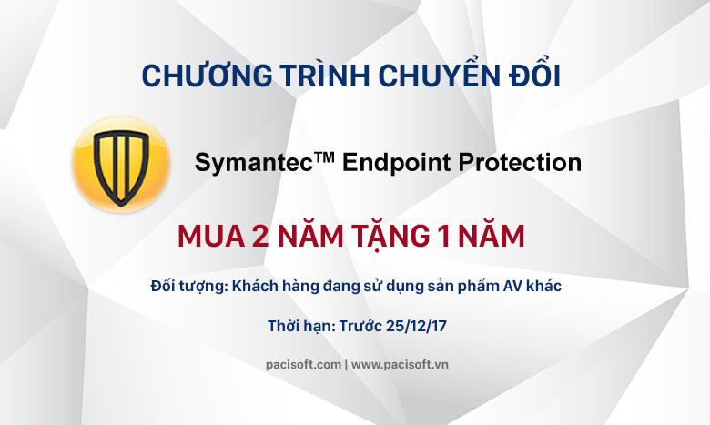 Chương trình chuyển đổi Symantec Endpoint Protection 14 trong tháng 12/2017