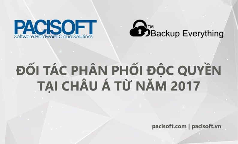 Pacisoft trở thành đối tác độc quyền phần mềm Backup Everything tại Châu Á