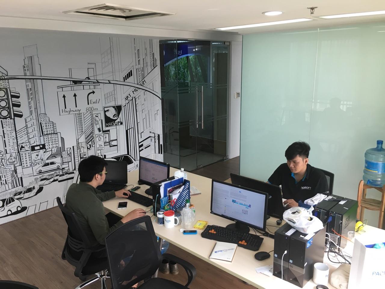 văn phòng pacisoft