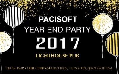 PACISOFT tổ chức thành công Hội nghị khách hàng và Year End Party 2017