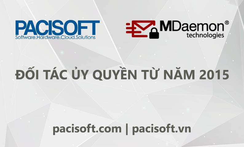 PACISOFT là đối tác ủy quyền chính thức của Mdeamon