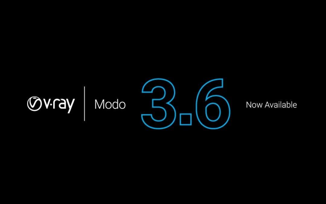 V-Ray 3.6 for Modo chính thức ra mắt
