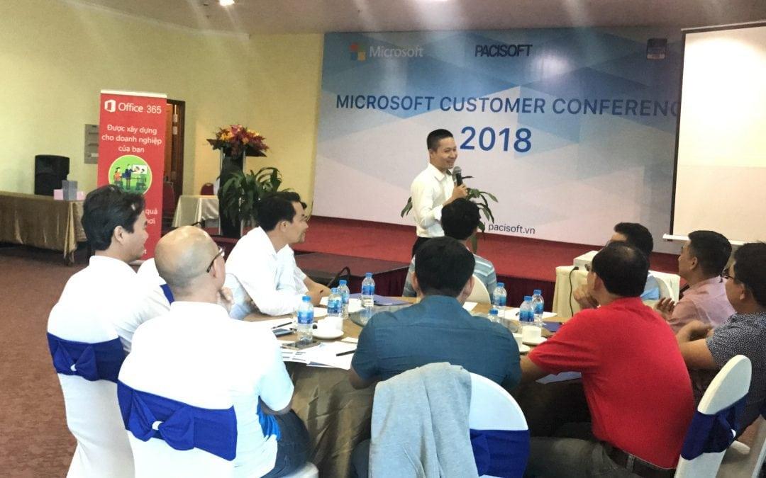 Pacisoft tổ chức thành công sự kiện Microsoft: Tăng hiệu suất làm việc cùng Office 365 & Mail Exchange