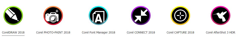 mua CorelDRAW Graphics Suite 2018
