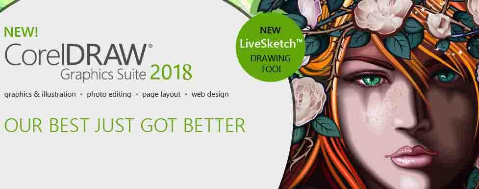 CorelDRAW Graphics Suite 2018 chính thức phát hành