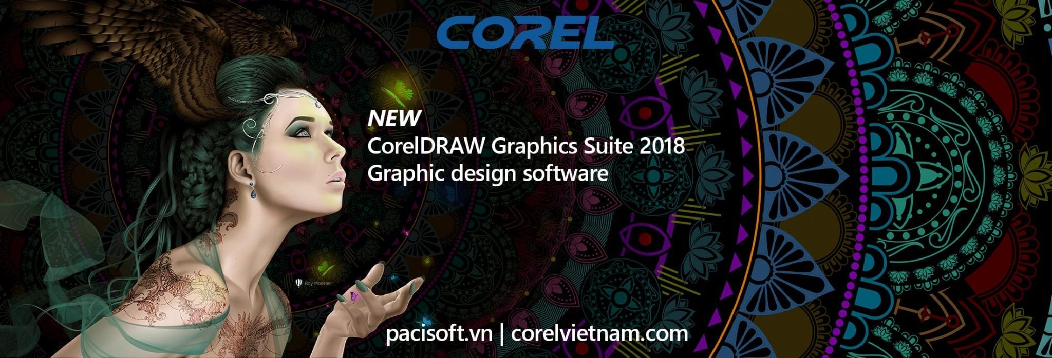 mua CorelDRAW Graphics Suite 2018