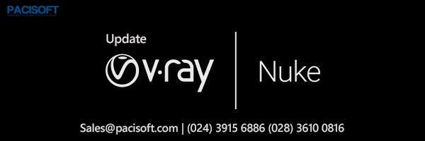 V-Ray 3.7 for Nuke phát hành