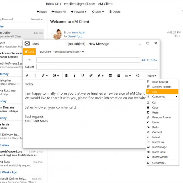 Mua phần mềm eM Client bản quyền