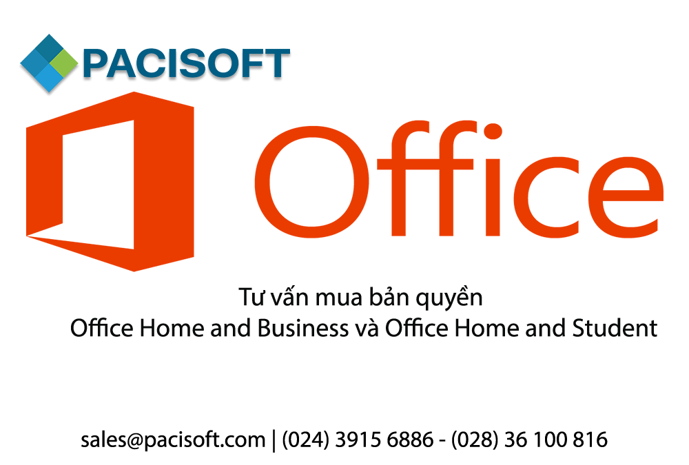 Tư vấn mua bản quyền Office Home and Business và Office Home and Student