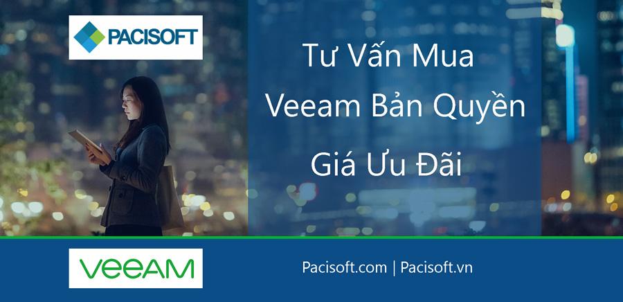 Tư vấn mua Veeam bản quyền | Phầm mềm Veeam bản quyền giá tốt