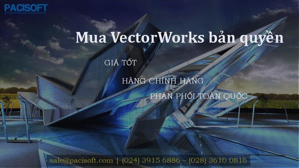 Tư vấn mua VectorWorks bản quyền