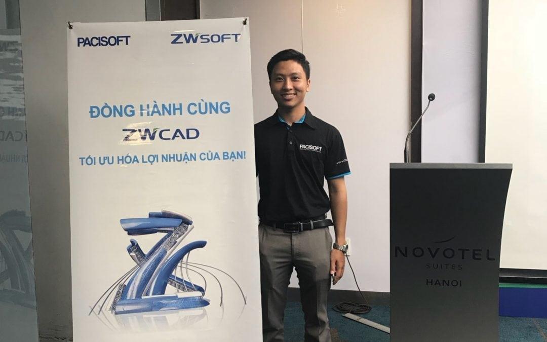PACISOFT tổ chức thành công sự kiện ZWCAD Reseller 2018 tại Hà Nội
