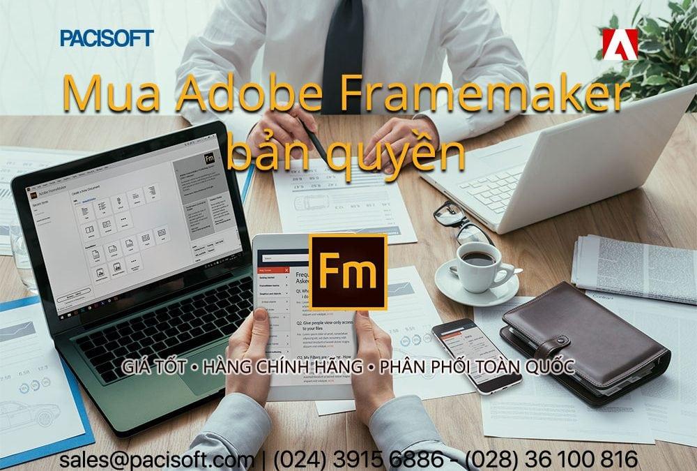 Tư vấn mua Adobe FrameMaker bản quyền