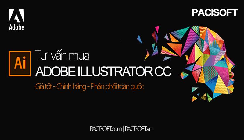Tư vấn mua Adobe Illustrator CC bản quyền
