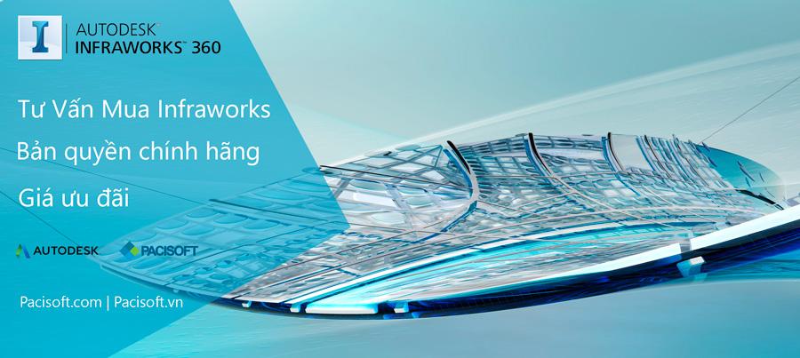 Tư vấn mua bán phần mềm InfraWorks bản quyền