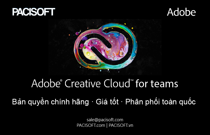 Tư vấn mua Adobe CC for teams bản quyền