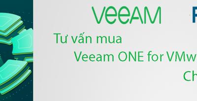 Tư vấn mua Veeam ONE for VMware/Hyper-V bản quyền