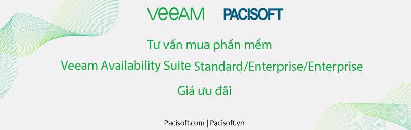 Tư vấn mua Veeam Availability Suite Standard/Enterprise/Enterprise Plus bản quyền