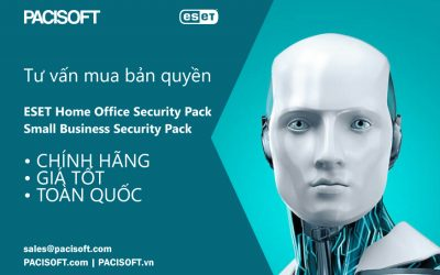 Tư vấn mua ESET Home Office Security Pack và Small Business Security Pack bản quyền
