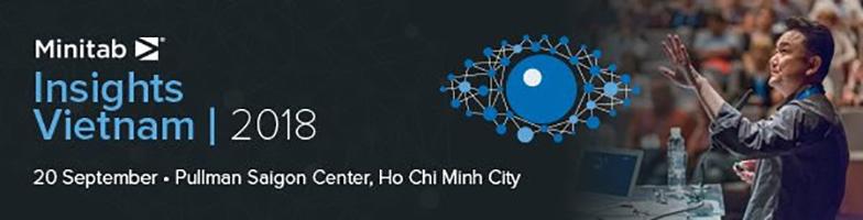 Đăng kí ngay sự kiện Minitab Insights Vietnam 2018