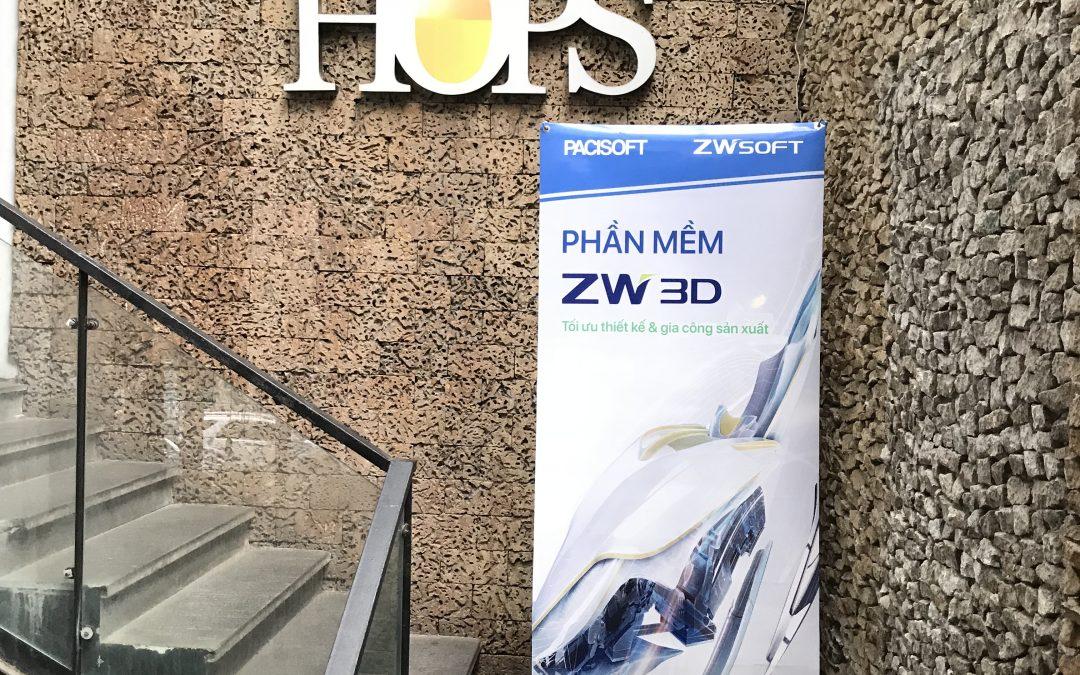 PACISOFT tổ chức thành công sự kiện ra mắt phần mềm thiết kế ZW3D