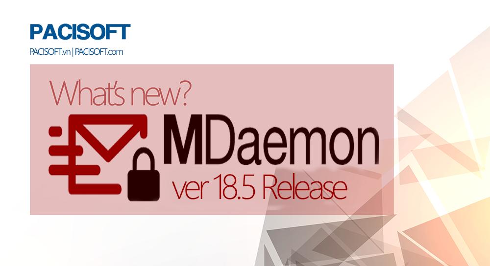 Phát hành phiên bản MDaemon 18.5