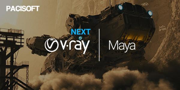 Thiết kế mạnh mẽ hơn cùng V-Ray Next for Maya sắp phát hành