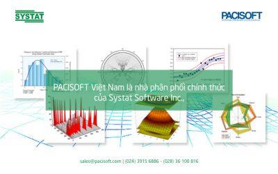 PACISOFT Việt Nam chính thức trở thành Đối tác của Systat Software